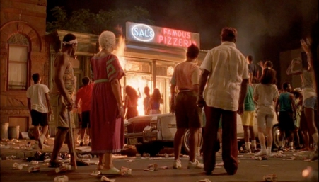 Spike Lee Do the right Thing – Analysis of the riot scene – Au cas ou ça t'aiderais